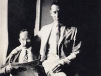 П.Н. Караваев. А.А. Языков. Июнь 1922 г. Вашингтон