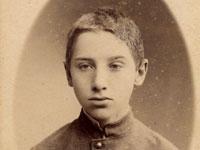 А.А. Языков. На обороте 1 фото: Отъ старшаго сына папе. 88.10.5. На обороте 2 фото: Дорогой Леличке отъ брата и сотрудника 1888.10.12.