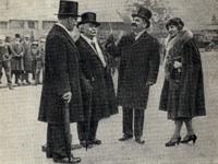 А.А. Языков, Н. Минский, И. Майский, А. Майская, 23 апреля 1926, Стратфорд-на-Эйвоне
